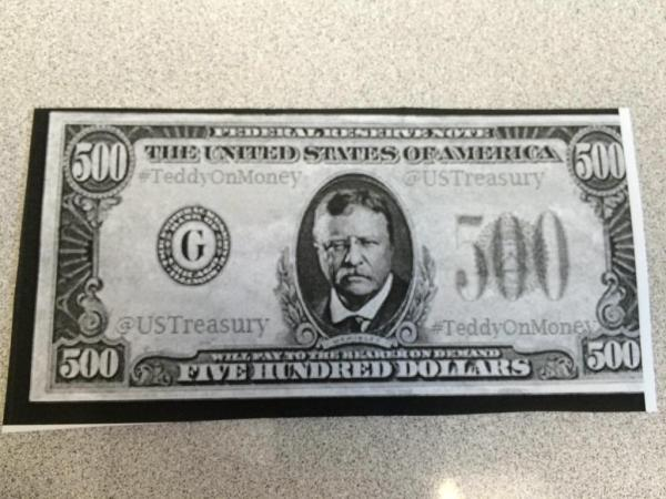 teddy on money