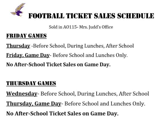 football ticket sales