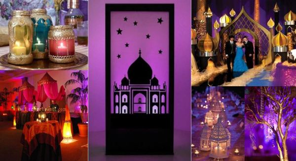 Concept photos of the Arabian Nights prom theme shown at the Oct. 21, 2015 Senior Assembly.