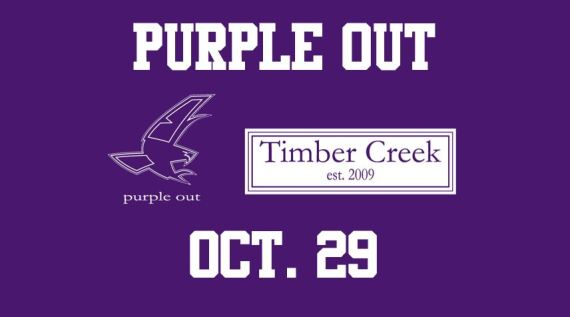 purple out