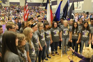 Photos from Oct. 29, 2015 Senior Pep Rally. (Photos by The Creek Yearbook photographer Milly Orellana.)