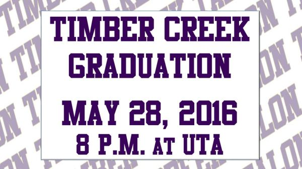 timber creek graduation time