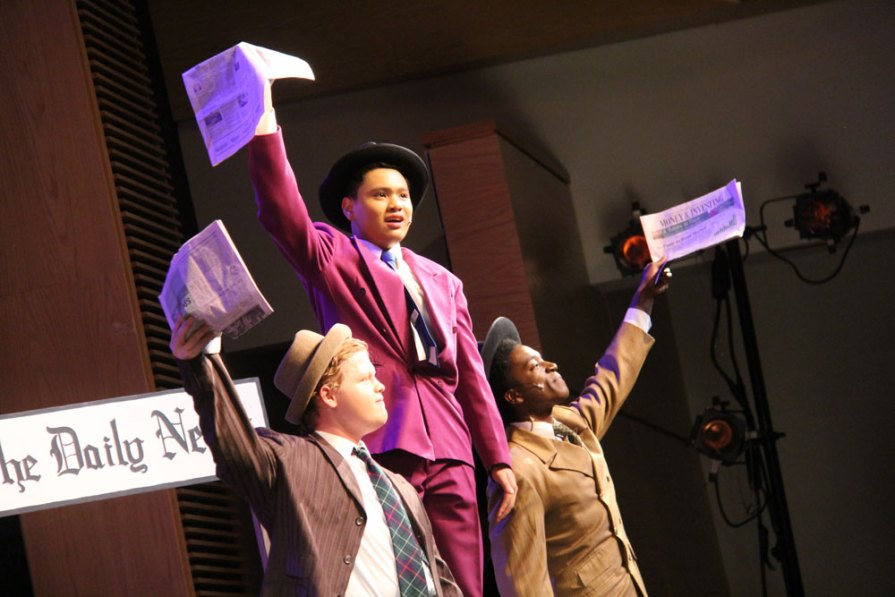 Photos from a dress rehearsal of Guys and Dolls on Dec. 7, 2015. (Photos by The Creek Yearbook photographer Lindsay Garner.)