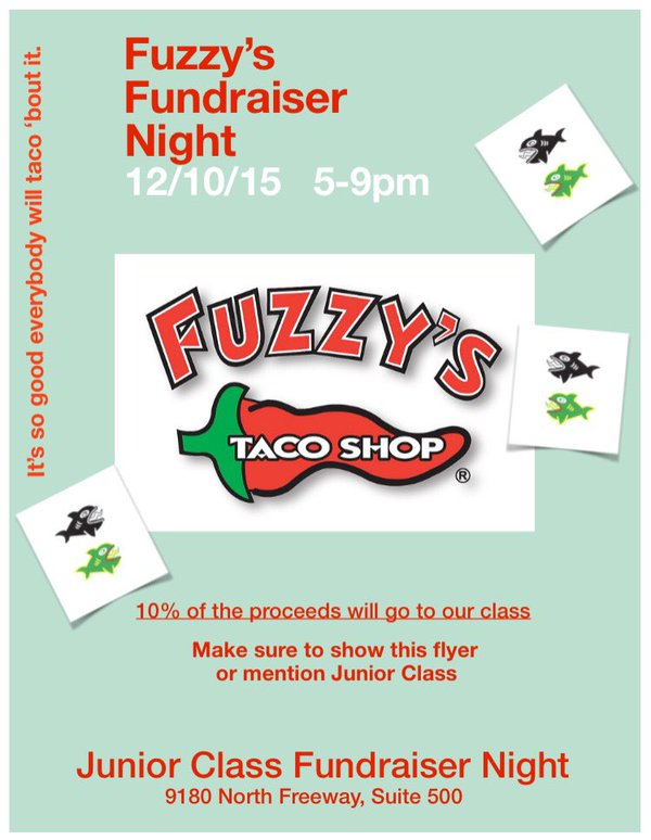 junior spirit night dec. 10