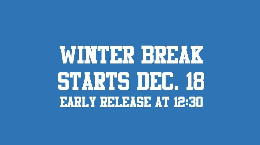 winter break starts early release 002