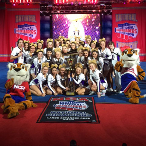 TCHS Purple Team won the NCA National Championship title in the Advanced Co-Ed division during the 2016 NCA National Championships in Dallas, TX.
