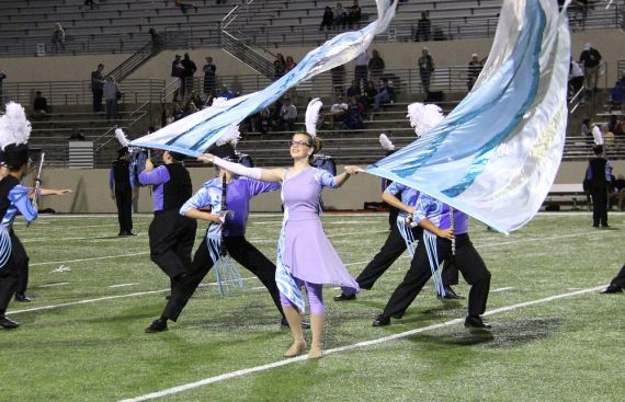 colorguard yearbook