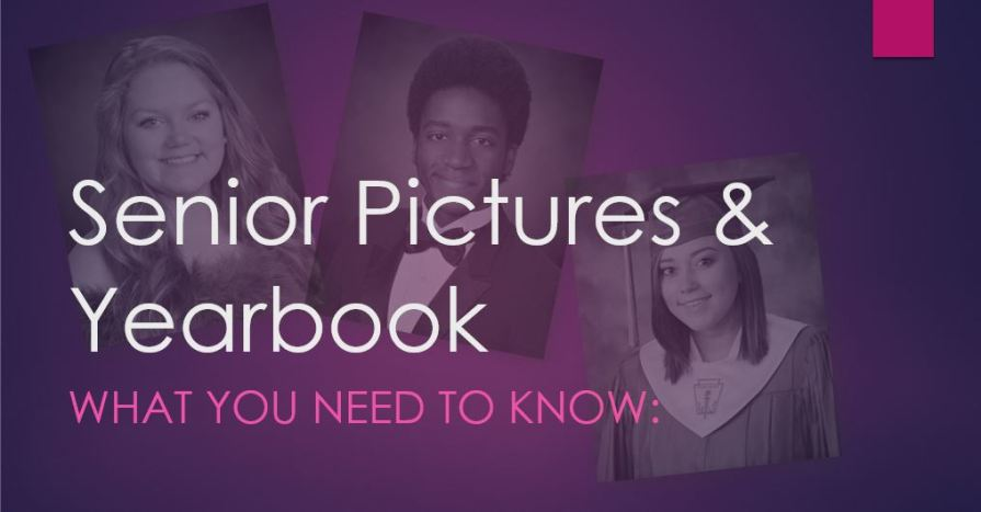 senior pictures and yearbooks