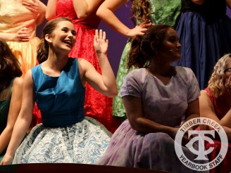 "Photos from the 2016 district-wide musical ""Grease."" (Photo by The Creek Yearbook Photographer Mason Chavez.)"