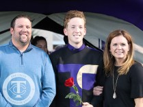 Photos from the Oct. 26, 2017 Senior recognition ceremony before the varsity football game. (Photos by The Creek Yearbook photographer Ainsley Lawthorn)