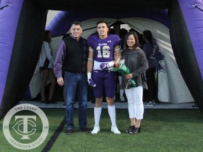 Photos from the Oct. 26, 2017 Senior recognition ceremony before the varsity football game. (Photos by The Creek Yearbook photographer Emma Thornton)Photos from the Oct. 26, 2017 Senior recognition ceremony before the varsity football game. (Photos by The Creek Yearbook photographer Emma Thornton)