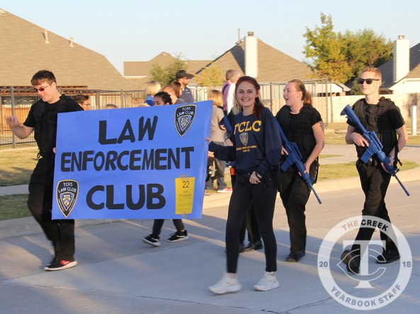Photos from the Oct. 12, 2017 Homecoming Parade from The Creek Yearbook photographer Kathy Beers.