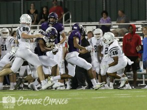 Photos from the August 30, 2018 varsity Falcon Football game versus Rockwall Heath. (Photos by The Creek Yearbook Photographer Connor Chance)