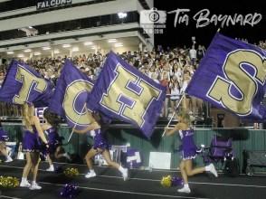 Photos from the August 30, 2018 varsity Falcon Football game versus Rockwall Heath. (Photos by The Creek Yearbook Photographer Tia Baynard)