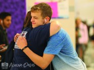 Photos of positivity during Friday, Sept. 28, 2018 welcoming at the start of school. (Photos from The Creek Yearbook photographer Aleena Davis)