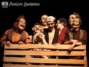 """Photos from the Sept. 17, 2018 dress rehearsal of Timber Creek Theatre's """"The Old Man and the Old Moon."""" (Photos from The Creek Yearbook photographer Ainsley Lawhorne.)"""
