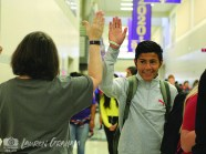 Photos of positivity during Friday, Sept. 28, 2018 welcoming at the start of school. (Photos from The Creek Yearbook photographer Lauren Graham)