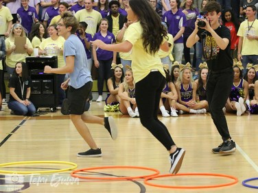 See photos from the Sept. 7, 2018 #GoldOut pep rally from The Creek Yearbook photographers. (Photos by The Creek Yearbook photographer Temi Ejuwa.)