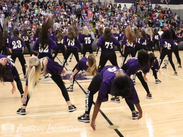 Photos from the Oct. 18, 2018 Homecoming Pep Rally from The Creek Yearbook photographers. (Photos by Ainsley Lawhorne)