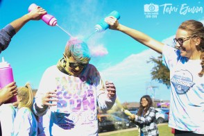 Photos from the Nov. 10, 2018 Falcon Family Color Run from The Creek Yearbook photographer Temi Ejuwa.