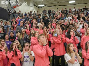 Photos from the Nov. 2, 2018 Senior Pep Rally. (Photo by The Creek Yearbook Photographer Temi Ejuwa)