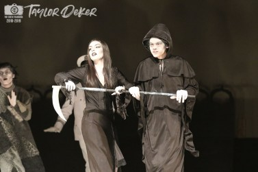 "Photos from the dress rehearsal of Timber Creek Theatre's ""The Addams Family"" from The Creek Yearbook photographer Taylor Deker."