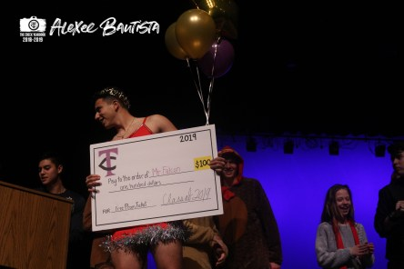 Photos from the senior fundraiser Mr.Falcon pageant on Feb.1, 2019. (Photo by The Creek Yearbook photographer Alexee Bautista)