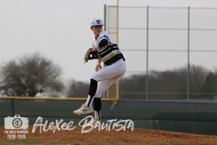 Photos from Varsity Baseball Game on March 8 (Photo by The Creek Yearbook Photographer Alexee Bautista)