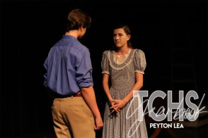 Photos from student directed play Our Town (Photo by The Creek Yearbook Photographer Peyton Lea)