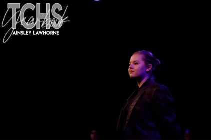 Photos from student directed play Our Town (Photo by The Creek Yearbook Photographer Ainsley Lawhorne)