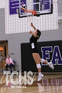 Photos from the Oct. 1, 2019 varsity volleyball game versus Fossil Ridge. (Photos by The Creek Yearbook photographer Peyton Lea.)