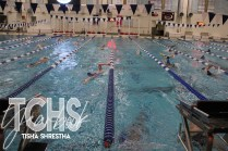 Photos from the Oct. 23 Swim and Dive practice. (Photo by The Creek Yearbook photographer Tisha Shrestha)