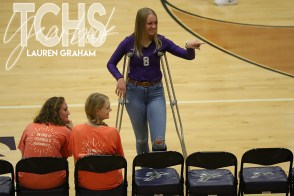 Photos from the Oct. 23, 2019 varsity volleyball game versus Eaton. (Photos by The Creek Yearbook photographer Lauren Graham.)