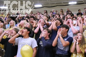 Photos from the Sept. 26, 2019 Gold Out Pep Rally at Timber Creek High School. (Photos by The Creek Yearbook photographer Aleena Davis.)