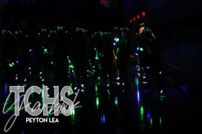 Photos from the Lights Out Pep Rally on Oct. 25. (Photo by The Creek Yearbook photographer Peyton Lea)