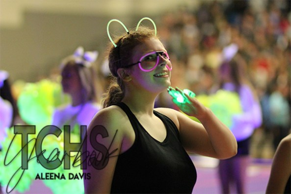 Photos from the Lights Out Pep Rally on Oct. 25. (Photo by The Creek Yearbook photographer Aleena Davis)