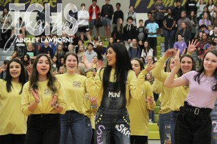 Photos from the the class of 2020s final pep rally on Nov. 7. (Photo by The Creek Yearbook photographer Ainsley Lawhorne)