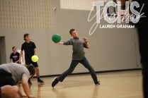 Photos from the dodgeball tournament held by the Baseball program on Dec. 6. (Photo by The Creek Yearbook photographer Lauren Graham)