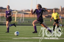 Photos from the Jan. 14 freshman girls soccer game. ( Photo by the Creek Yearbook Photographer Tisha Shrestha)