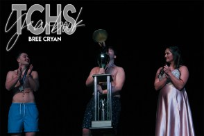 Photos from the senior fundraiser Mr.Falcon pageant on Feb.7, 2020. (Photo by The Creek Yearbook photographer Bree Cryan)