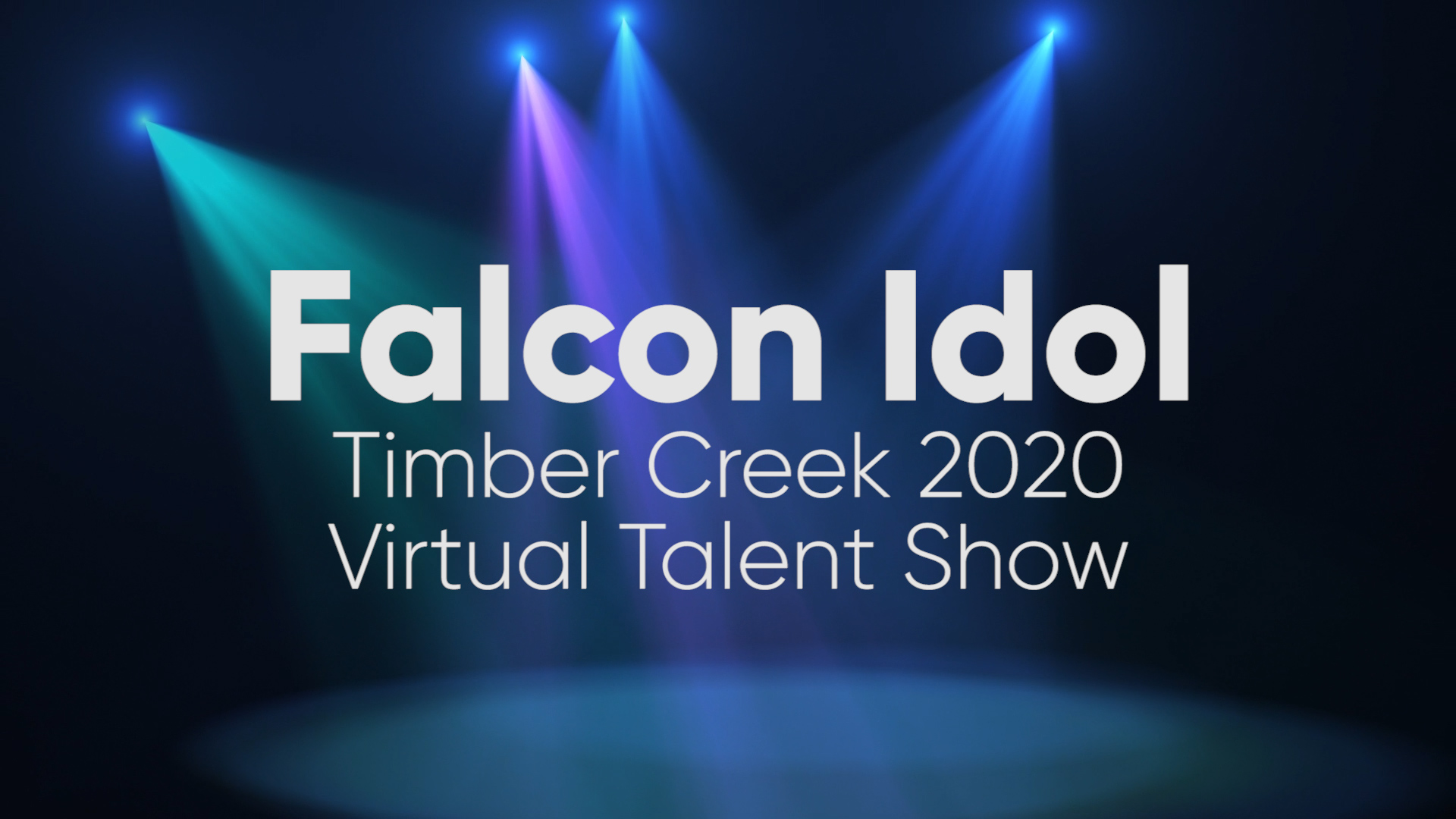 Auditions Now Open for First Timber Creek Virtual Talent Show