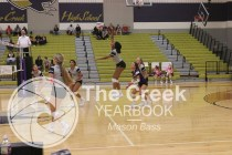 Photos from the varsity volleyball game on Oct.16 vs. Central. (Photo by The Creek Yearbook photographer Mason Bass)