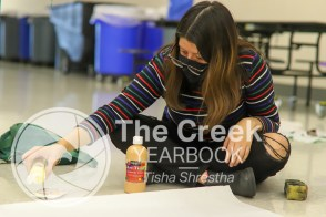 Photos from the Oct. 3, Timber Creek Student Council Homecoming Workday.