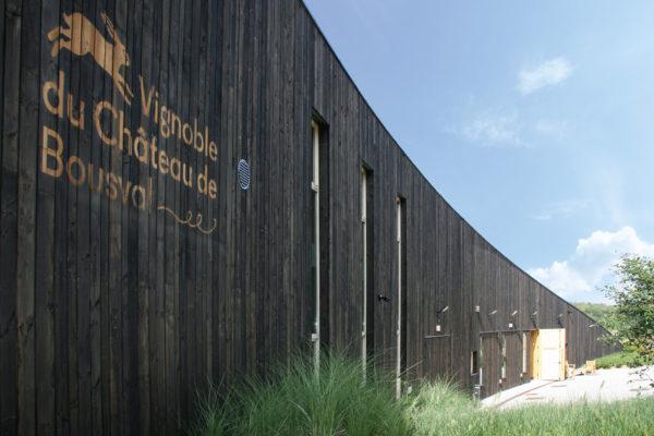 Profil du bâtiment - Vue de la cuverie