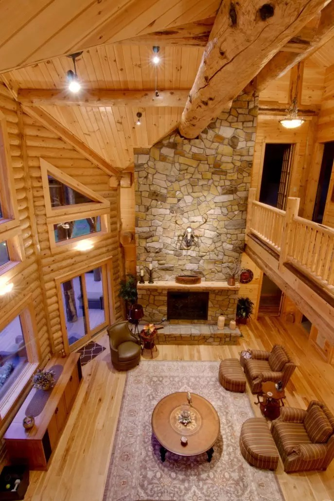 Great Rooms Timberhaven Log Amp Timber Homes