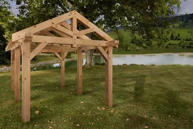 Timber Frame Pavilion Timberhaven Log Amp Timber Homes