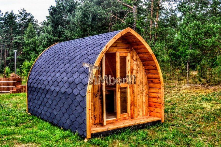 Holzhütte Garten