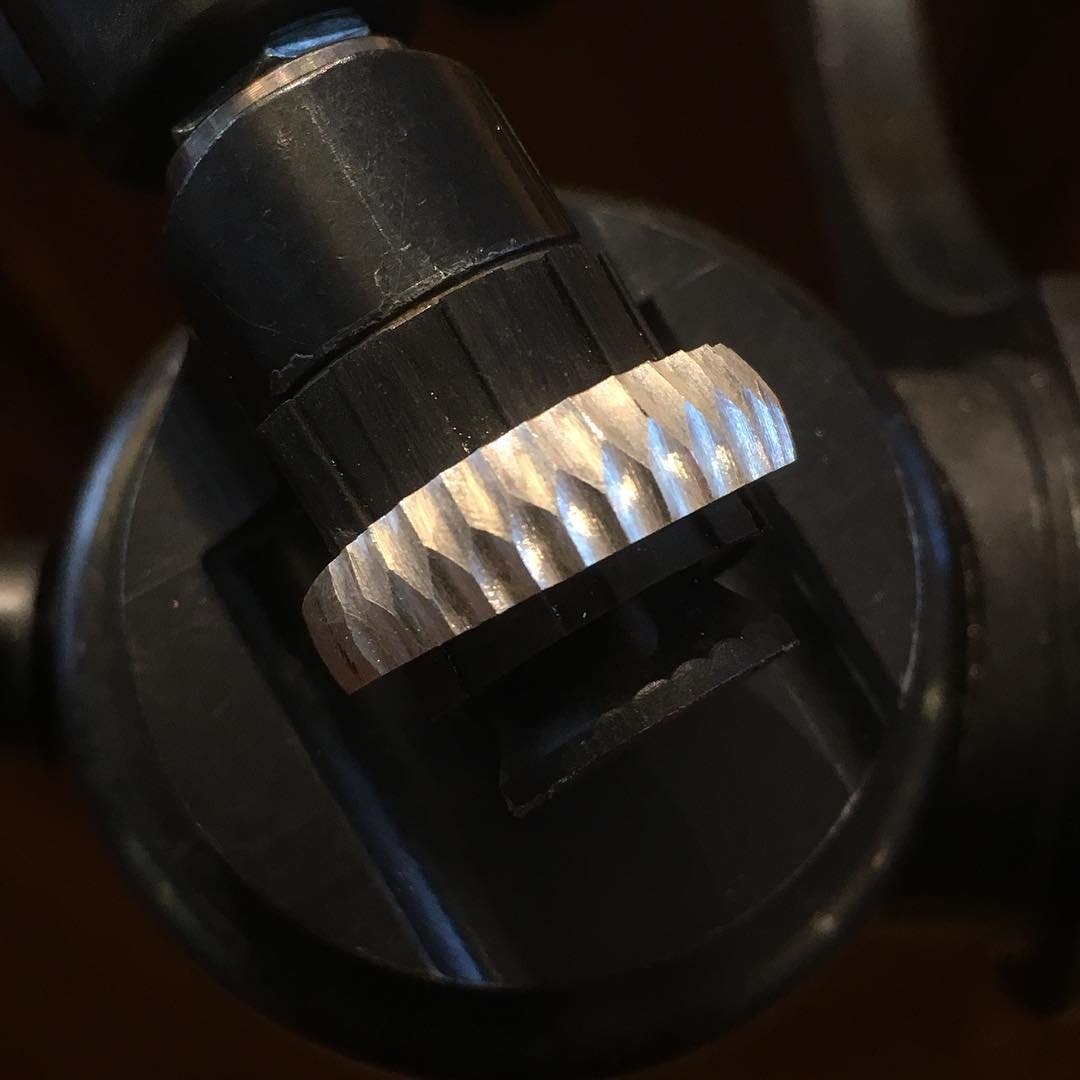 Ring aus Silber im Entstehungsprozess