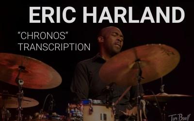 "Eric Harland | ""Chronos"" Solo | Transcription"