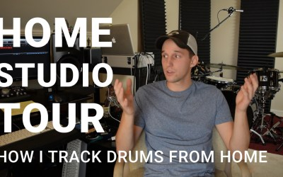 Home Studio Tour | How I Track Drums From Home
